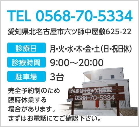TEL:0568-70-5334
